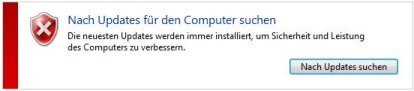 Windows Updates Fehler